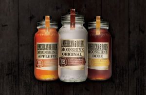 American Born Moonshine bottles, courtesy photo.