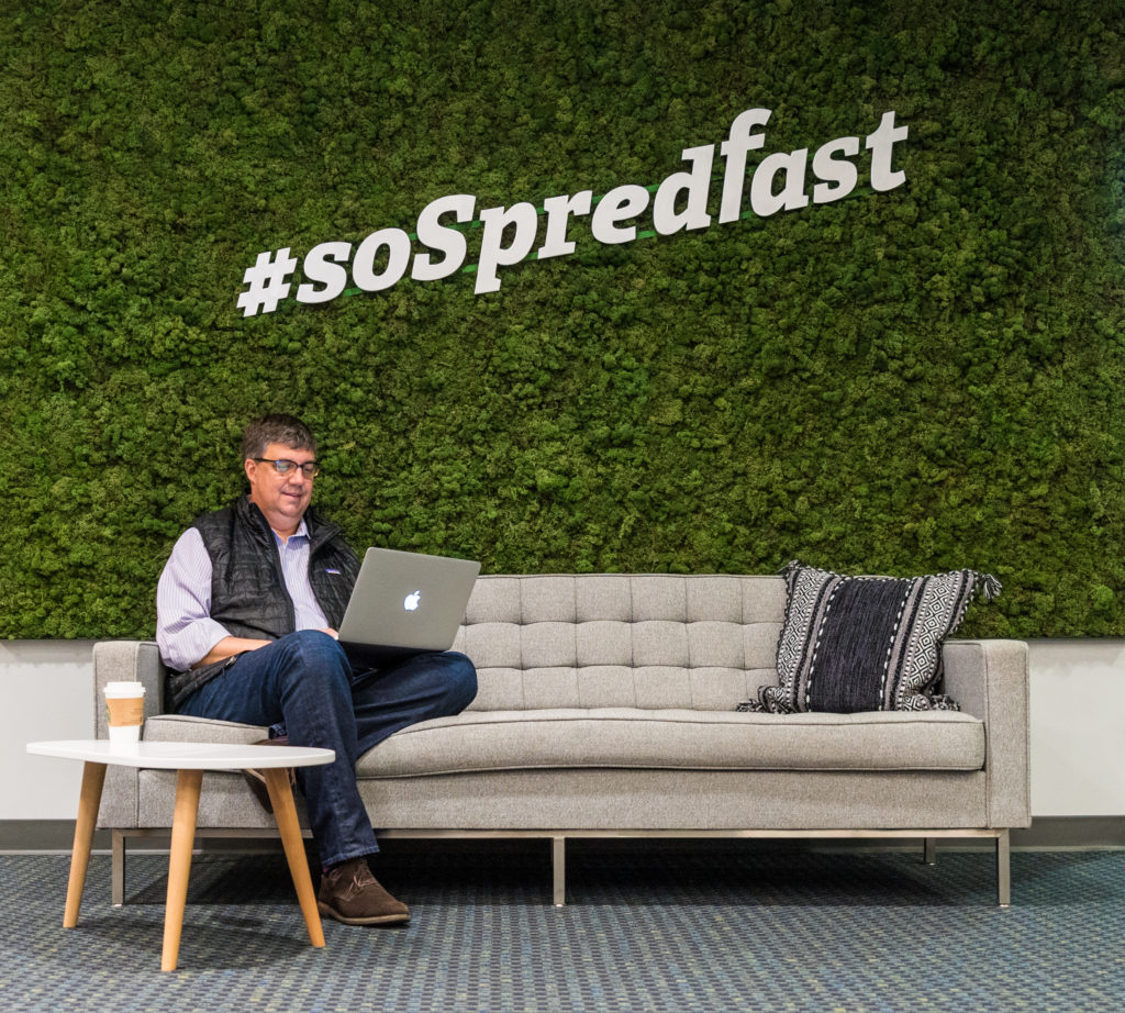 Rod Favaron, president and CEO of Spredfast, courtesy photo.