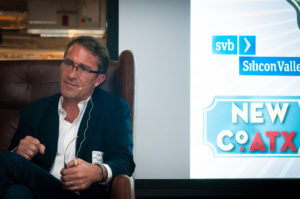 John Battelle, founder of NewCo at last year's conference, photo by John Davidson.