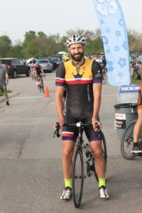 Dennis Lastochkin, cyclist and co-founder of Thea.com, a search engine and event site for endurance athletes. Courtesy photo.