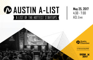 Austin Chamber to Host the 2017 A-List Hottest Startup Awards