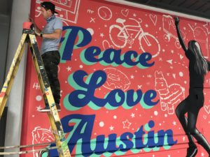 Google Fiber Commissions Austin Artists to Paint Murals