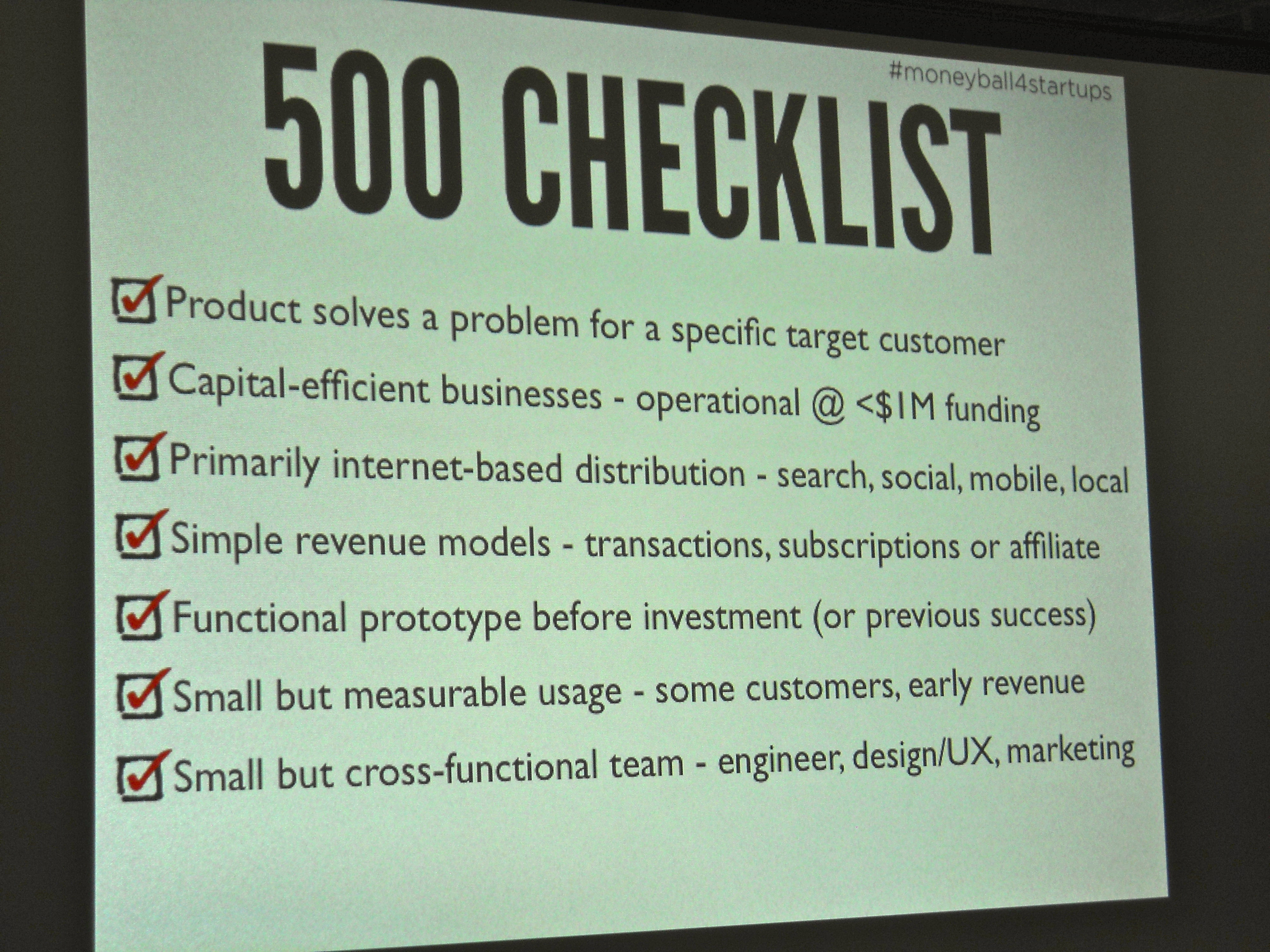 500 startups employs data and analytics to pick tech startups