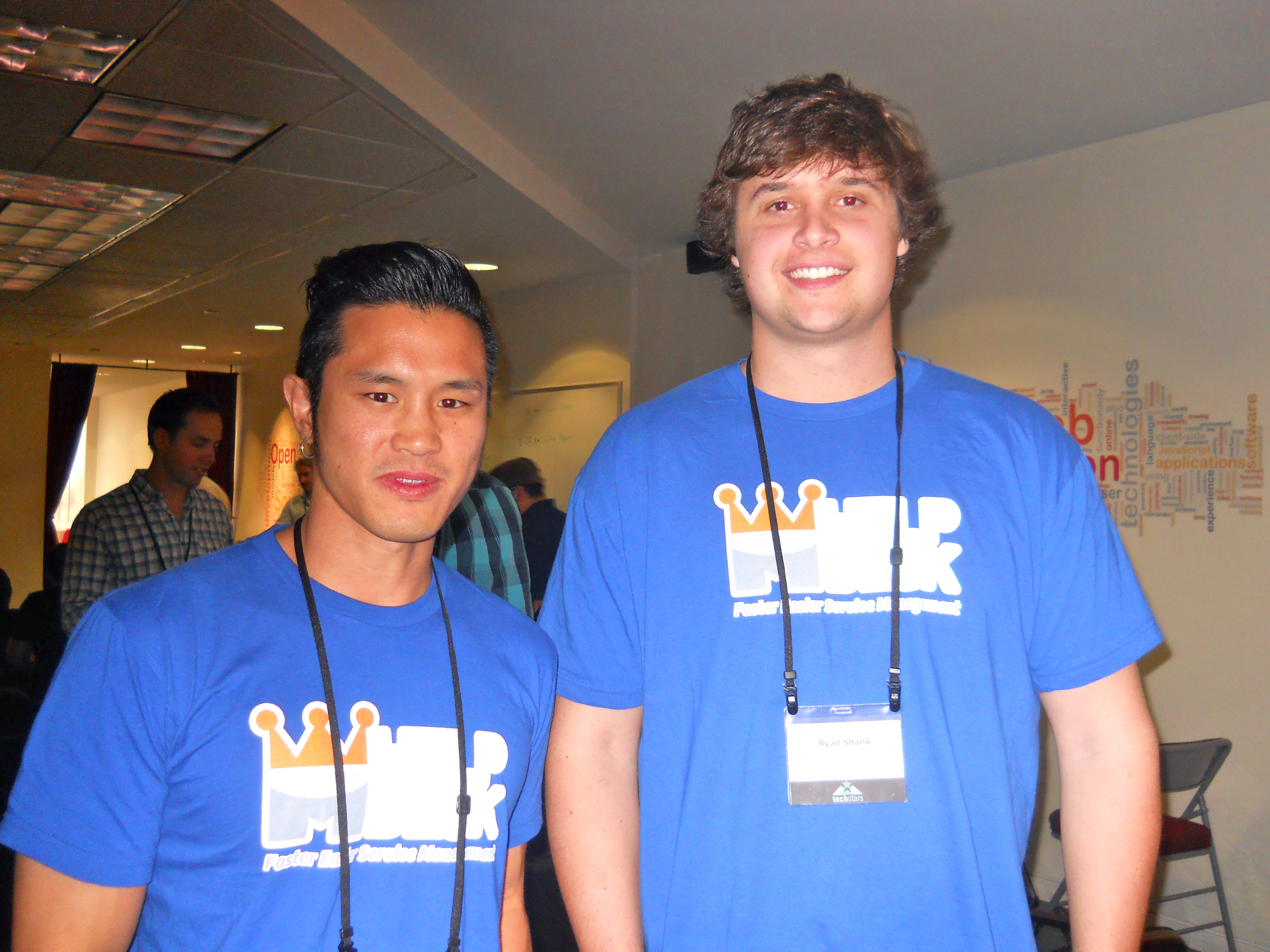 Ryan Shank And Vincent Wong, Co Founders Of MHelpDesk
