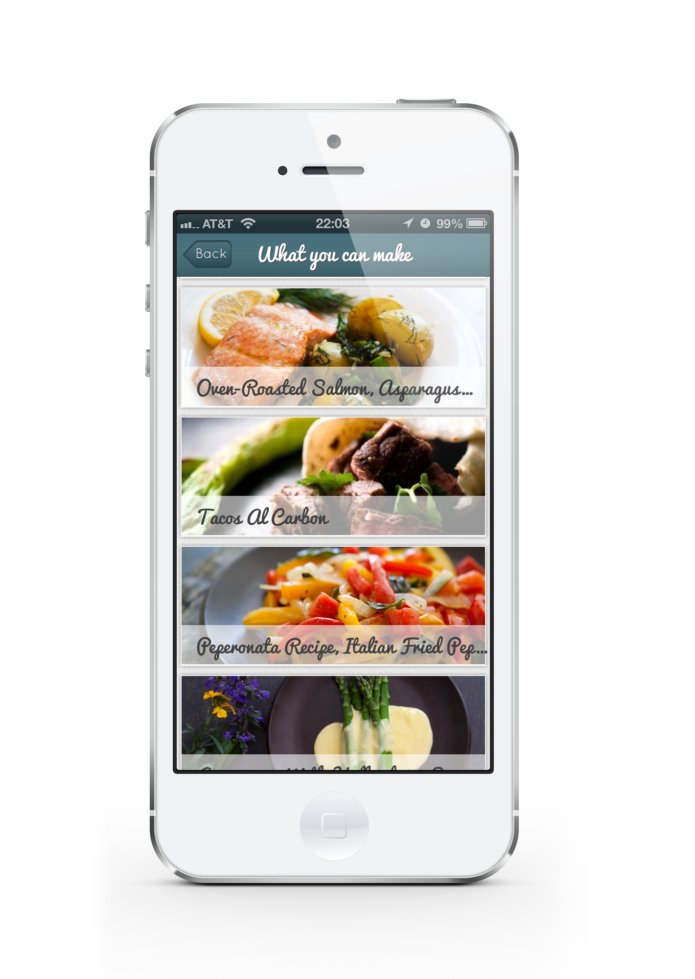 Recipeas launches recipe search app siliconhills iphone portrait 4 forumfinder Gallery