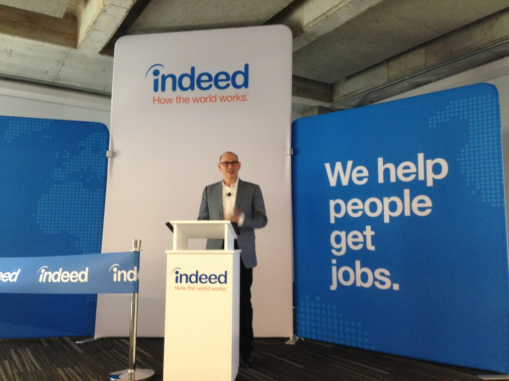 indeed plans to hire 1 000 employees in austin siliconhills chris hyams president of indeed the world s largest job site