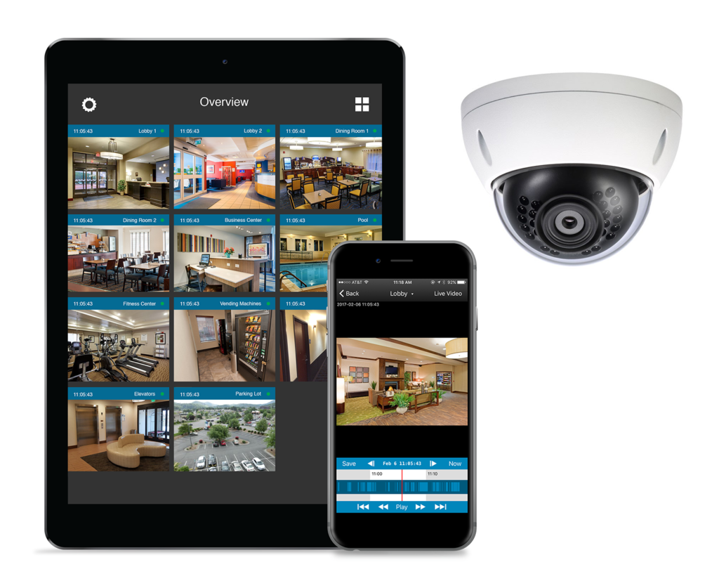 Eagle Eye Networks Buys Panasonic Cloud Management Service and Expands into the European Market - Business Security Systems: Cameras & Alarms | Michigan Camera Systems - Phone-iPad-1024x837