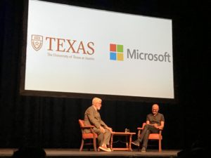 Microsoft CEO Satya Nadella Tells UT Austin Students Empathy is the Key to Innovation