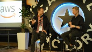 At Capital Factory, Shep Founder Pitches Reddit CEO Steve Huffman on the Fly at SXSW
