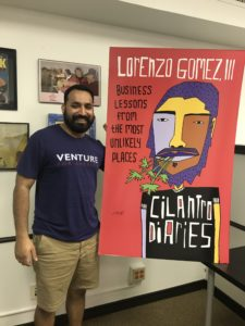 Lorenzo Gomez, Author of the Cilantro Diaries, Talks About Tech in San Antonio on the Ideas to Invoices Podcast