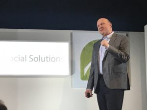 Billionaire Steve Ballmer Says Software is key to Solving Social Problems