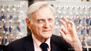 UT Austin Engineering Professor John B. Goodenough Wins Nobel Prize in Chemistry