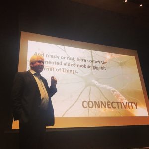 Internet Pioneer Bob Metcalfe Says the Internet's 50th Birthday is Just the Start of Disruptions and Innovations Tied to Massive Connectivity